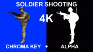 3d Loopable Soldier Shooting