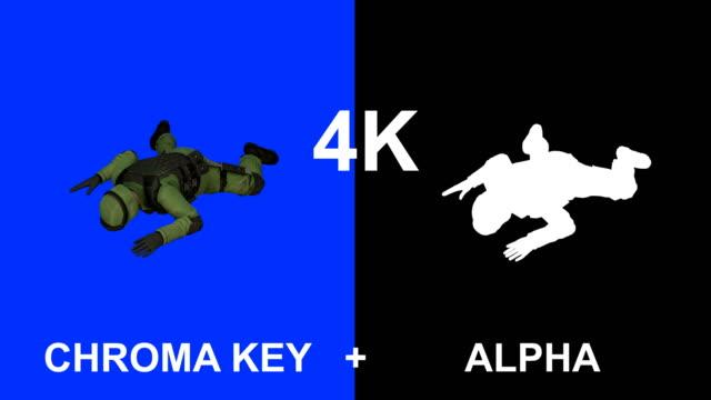 3D soldat
