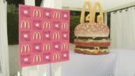 40th Birthday Party for McDonald's_ Big Mac_ at Malibu CA