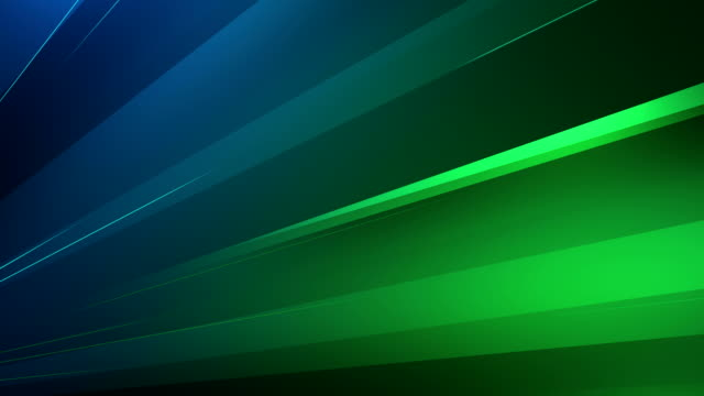 4k Abstract Minimalistic Background (Blue, Green) - Loop