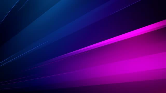 4k Abstract Minimalistic Background (Purple, Blue) - Loop