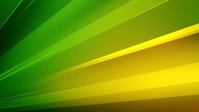 4k Abstract Minimalistic Background (Green, Yellow) - Loop
