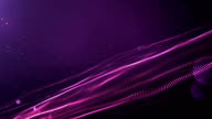 4k Abstract Wave Background Loop (Purple)