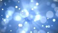 4k blue bokeh abstract light background