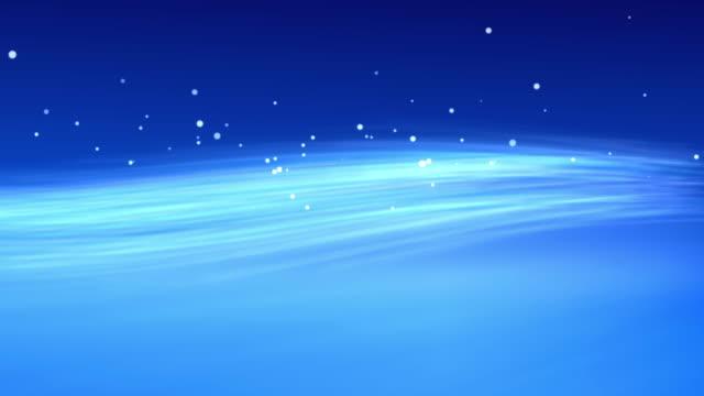 4k Blue Streaks Light Abstract Animation Background Seamless Loop