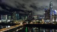 UHD 4k Day to Night Time Lapse Austin, Texas USA