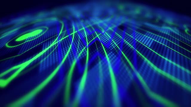 4k digital lines lights ideias