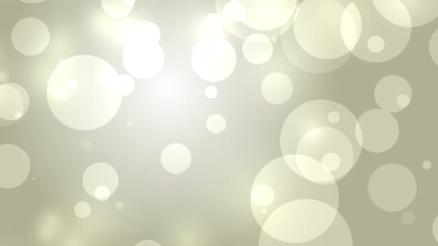 4k: Gold Abstract Lights bokeh background. Seamless Loop