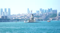 4k: Maiden's Tower in Istanbul