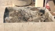 4k, manual cement mixer