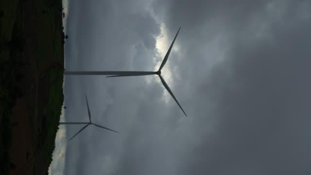 4k of Farm of Wind Turbine for Alternative Energy.