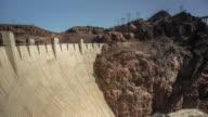 4k Pan Time-Lapse of Hoover Dam and Mike O'Callaghan–Pat Tillman Memorial Bridge.