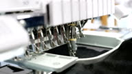 4k Textile embroidery machine