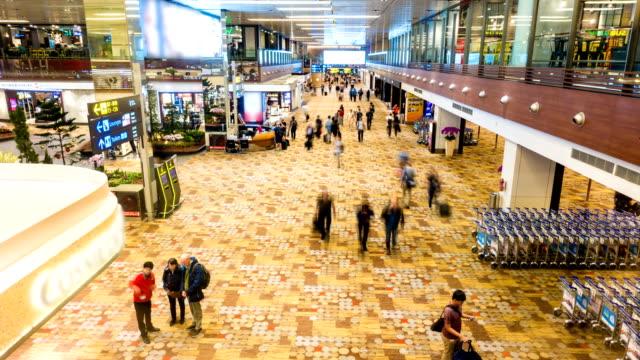 4 k Zeitraffer: Airport Passenger Terminal