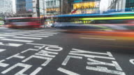 4k Time-lapse of traffic in Seoul.