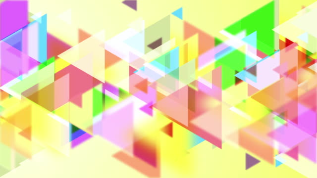 4k Triangles Abstract Background Animation