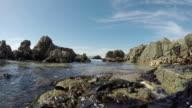 4k: Water Hitting against the Rocks
