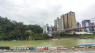 TL 4k : Xin Dian river Taipei, Taiwan