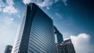 4K:Building time-lapse business center