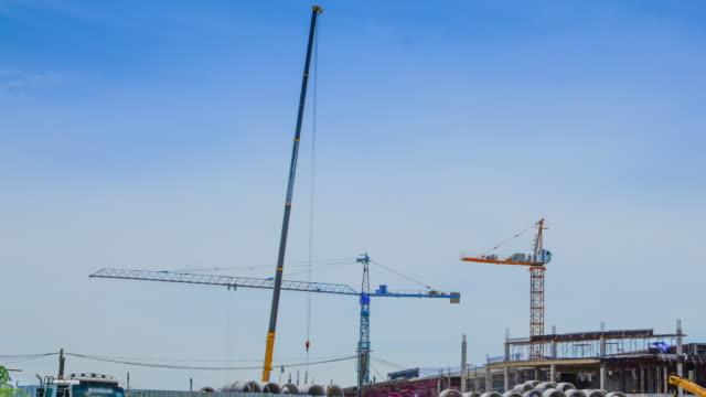 4K:Construction Site time-lapse