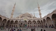 4K:istanbul Blue Mosque-Sultan Ahmet Mosque