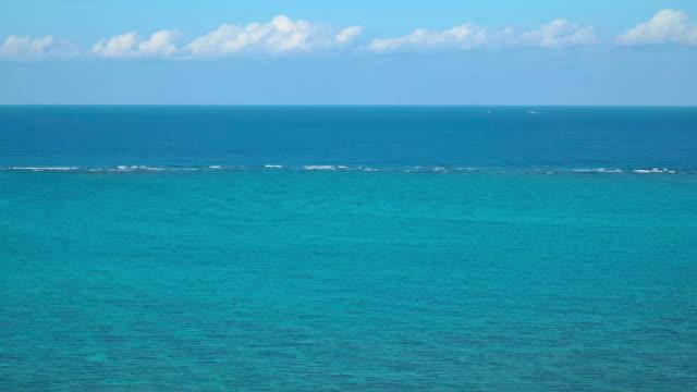 4K,Ocean and sky.Okinawa,Japan