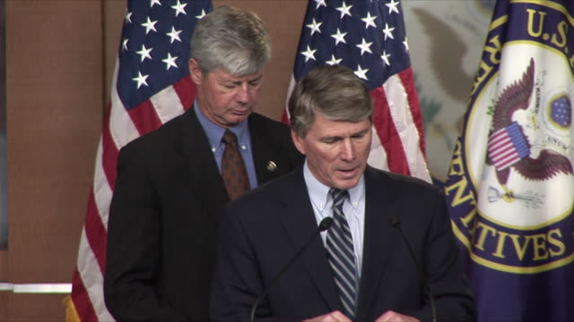 4Mar2010 MS US Representative Bart Stupak joined by Rep Gene Taylor for press conference on NAFTA / Washington DC