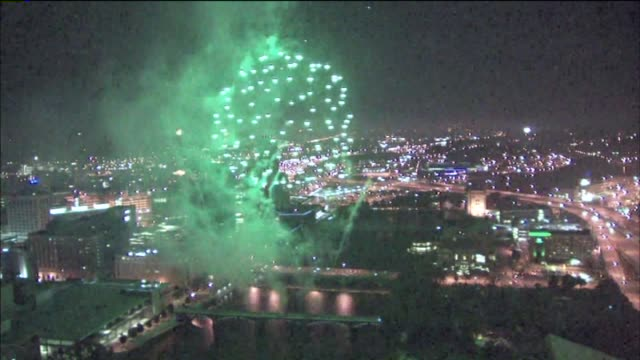 4th Of July Fireworks In Downtown Grand Rapids