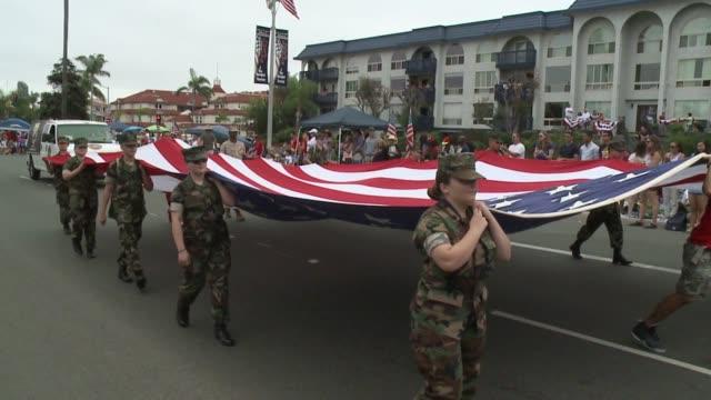 KSWB 4th of July Parade in Coronado