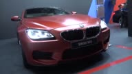 53rd Belgrade Motopassion Motor Show starts in Belgrade Serbia on March 23 2017 Goran Knezevic Minister of Economy of Sernia delivers a speecj during...