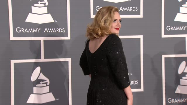 54th Annual GRAMMY Awards Arrivals Los Angeles CA 02/12/12