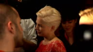 54th BFI London Film Festival interviews ENGLAND London INT Derek Cianfrance speaking to press Sign for '54th BFI London Film Festival' Michelle...