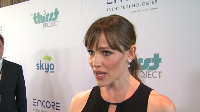 CHYRON 5th Annual Thirst Gala Hosted By Jennifer Garner Honoring Follett in Los Angeles CA
