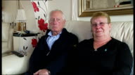 5yearold British girl drowns at Sharm elSheikh resort Grandparents interview ENGLAND London INT Gordon Johnson and April Johnson interview SOT...