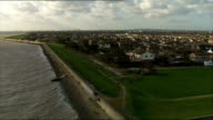 Service of commemoration held ENGLAND Essex Canvey Island houses at waters edge