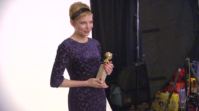 69th Annual Golden Globe Awards Backstage Portrait Studio Beverly Hills CA United States 01/15/12