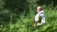 83yearold man stabbed to death while walking dogs in Norfolk woods ENGLAND Norfolk Nr East Harling EXT Woodland trees Forensic officer 'Forensic...