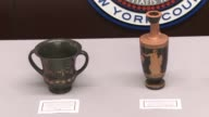 8th Century BC bronze statues among collection of ancient artifacts repatriated to Italian Republic by Manhattan District Attorney's office