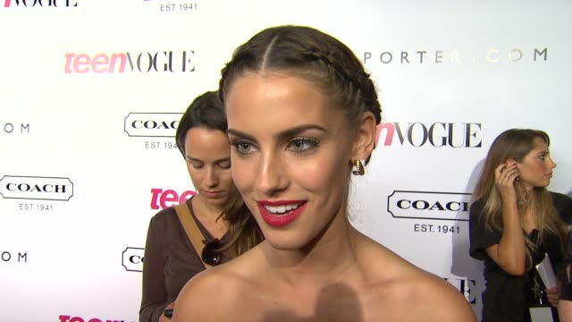 9th Annual Teen Vogue 'Young Hollywood' Party Los Angeles CA United States 9/23/11