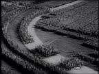 MONTAGE a documentary by Frank Capra of the Nuremberg Nazi Party rally / Germany