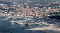 Aarhus  - Aerial View - Central Jutland, Århus Kommune, Denmark