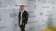 Aaron Carter at the Premiere Of National Geographic Channel's Saints And Strangers at Saban Theatre in Beverly Hills in Celebrity Sightings in Los...