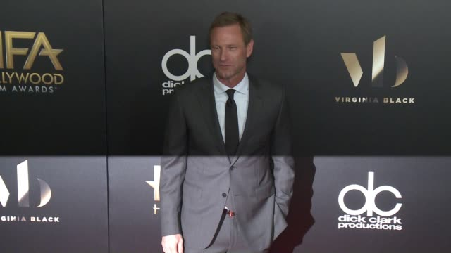Aaron Eckhart at 20th Annual Hollywood Film Awards at The Beverly Hilton Hotel on November 06 2016 in Beverly Hills California