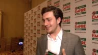Aaron Johnson on being awarded a prize voted for by the public at the Jameson Empire Awards at London England