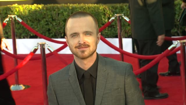 Aaron Paul at 18th Annual Screen Actors Guild Awards Arrivals on 1/29/12 in Los Angeles CA