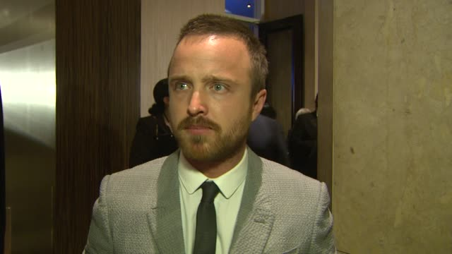 INTERVIEW Aaron Paul on being at the event at the 63rd Annual ACE Eddie Awards at The Beverly Hilton Hotel on February 16 2013 in Beverly Hills...