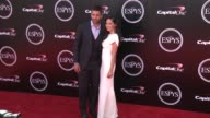 Aaron Rodgers and Olivia Munn at the 2016 ESPY Awards at Microsoft Theater on July 13 2016 in Los Angeles California