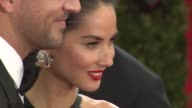 Aaron Rodgers Olivia Munn at 'China Through The Looking Glass' Costume Institute Benefit Gala Arrivals at Metropolitan Museum of Art on May 04 2015...