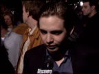 aaron stanford at the 'X2 XMen United' Premiere at Grauman's Chinese Theatre in Hollywood California on April 28 2003