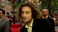 Aaron TaylorJohnson on his character and dancing at Anna Karenina World Premiere Anna Karenina World Premiere at Odeon Leicester Square on September...